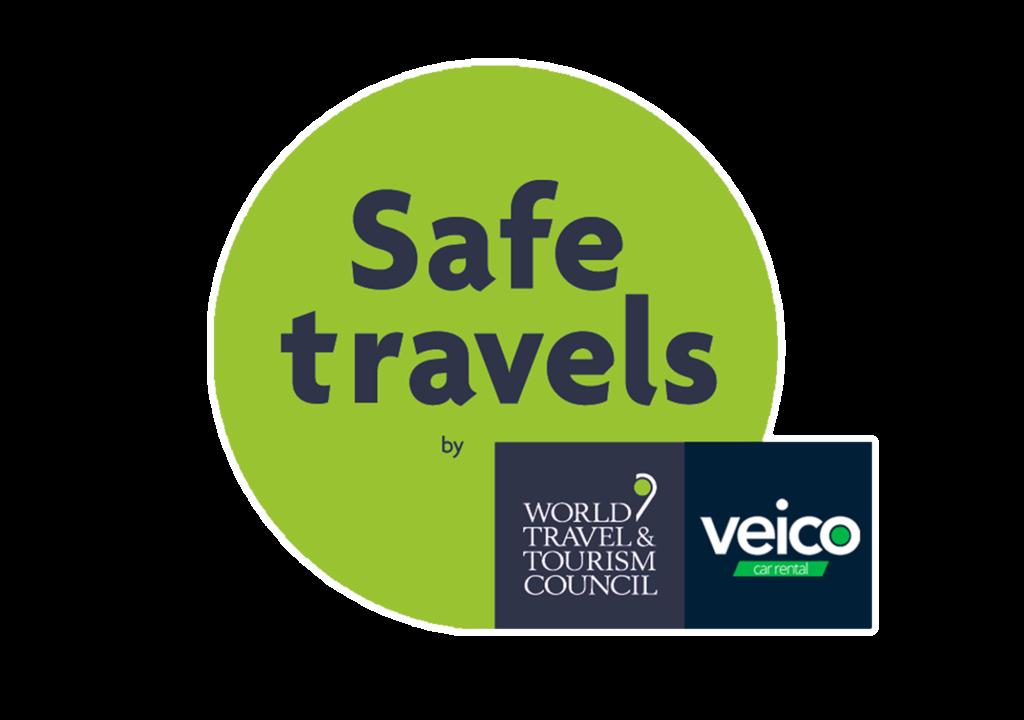 Certificación Safe Travels Veico Car Rental